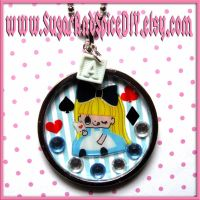 Alice Beat The Queen Necklace by wickedland