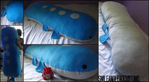 Giant 5FT Wailord Pillow
