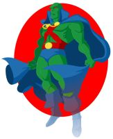 Martian Manhunter by lordmesa