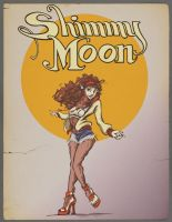 Shimmy Moon by nothere3