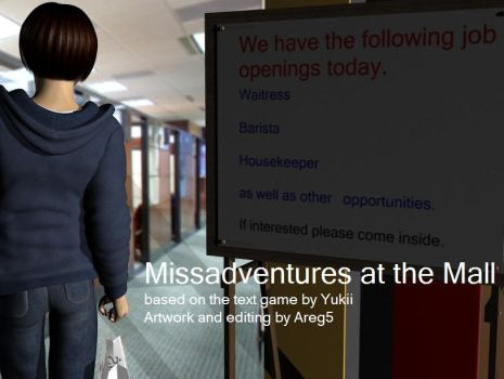 Missadventures at the Mall Chapter Two by areg5