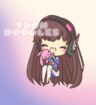 [ OW ] D.Va by stephie-boo