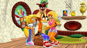 Happy Bandicoot Family and Friends (MMD) by 9029561