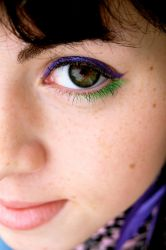 Green Eyes I by CoralineRainbow