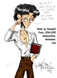 Alan The Sexy Nerd by dashassfrost
