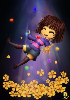 Frisk : Welcome to the Underground by A-lichka