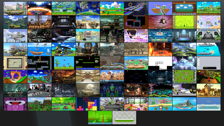 Super Smash Bros. United Stage Select by DFreak22