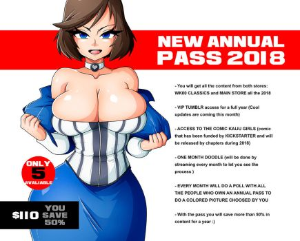 SECOND AND LAST ROUND! ANNUAL PASS 2018 by Witchking00