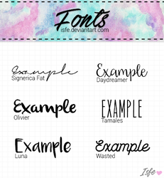 Fonts 2 by Isfe