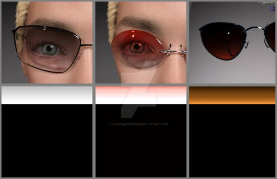 new G8 EyeWear Refraction Textures by AndySanderson