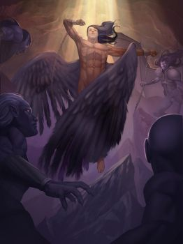 Icarus rises by chamakoso