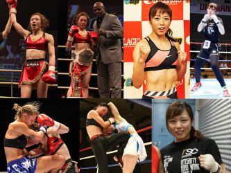 Kick boxing champion turned to boxing. by femboxjp