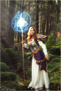 All I ever wanted to do (Jaina Proudmoore Cosplay) by Gurukast