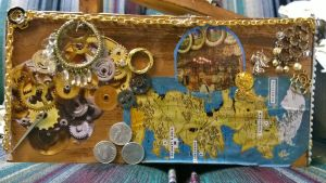 Upcyled- Jewelry Box- SideFr by SpicePrincess