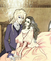Sarah and Jareth by Synessa