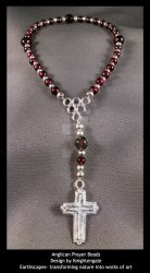 Anglican Prayer Beads by midKnightMuse