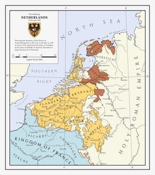 The Habsburg Netherlands by Milites-Atterdag