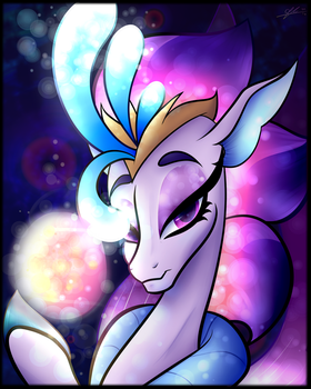 MLP Print - Queen Novo by CosmicChrissy