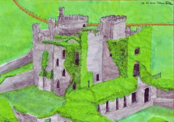 Clifden Castle by KittyRyou