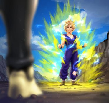 ReDO-Challenge: Gohan VS Cell by xenocracy