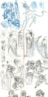 what a sketchdump 4 by captainhawkeh