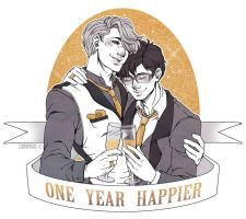 YOI: One Year Happier by Cobyfrog