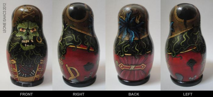 LeChuck Nesting Doll by LeonieIsaacs
