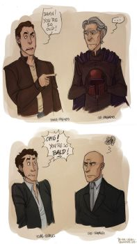 X-MEN - young vs. old by the-evil-legacy