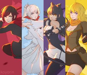 Team RWBY by Koyorin