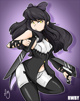 RWBY-Blake by DuckDraw