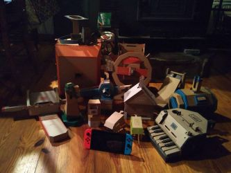 Nintendo Labo - Variety, Robot and Vehicle Kits by Erik-the-Okapi
