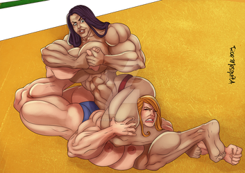 [C] Wrestling Match 10 by roemesquita