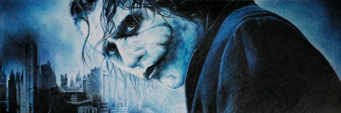 Heath Ledger the Joker by olgy