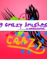9 crazy brushes. by naturalemotions