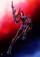 Black Widow by cric