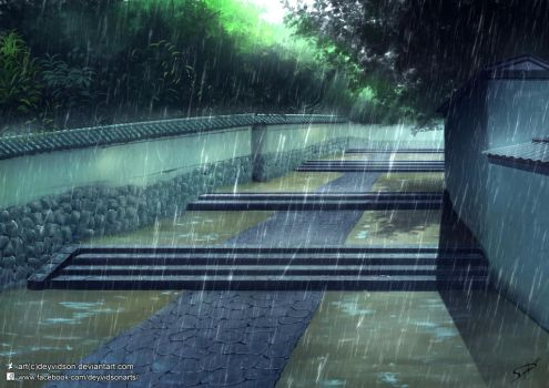 Rainy weather from an old era. by Deyvidson