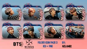 BTS You Never Walk Alone Folder Icon Pack 3 by nslam92