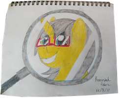 Magnify that Flair  ( Birthday Gift ) by FireHeartDraws