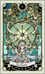 Tarot card 10- the Wheel of fortune by rann-poisoncage