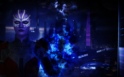 Mass Effect Biotic Photoshop Tutorial (Youtube) by p2thewind45