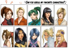 Guess who meme - ladies by Autumn-Sacura