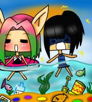 Contest entry- fun in the sun by hinatacookie2008