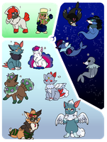 PKMN Clutch  All of this is from 2017 [CLOSED] by DevilsRealm