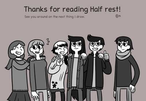 Thanks for reading by FriKitty