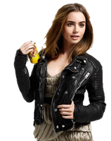 Lily Collins  png by dayslikethiss