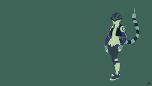 Meruem (Hunter x Hunter) Minimalist Wallpaper by greenmapple17