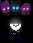 Five Night Terrors at Freddy's Cover by cjc728