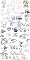 Ginormous Doodle Page 6 by raizy