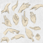 hand reference by Faezer