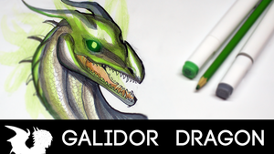 HOW TO DRAW YOUR DRAGON TUTORIAL! Heads by Galidor-Dragon
